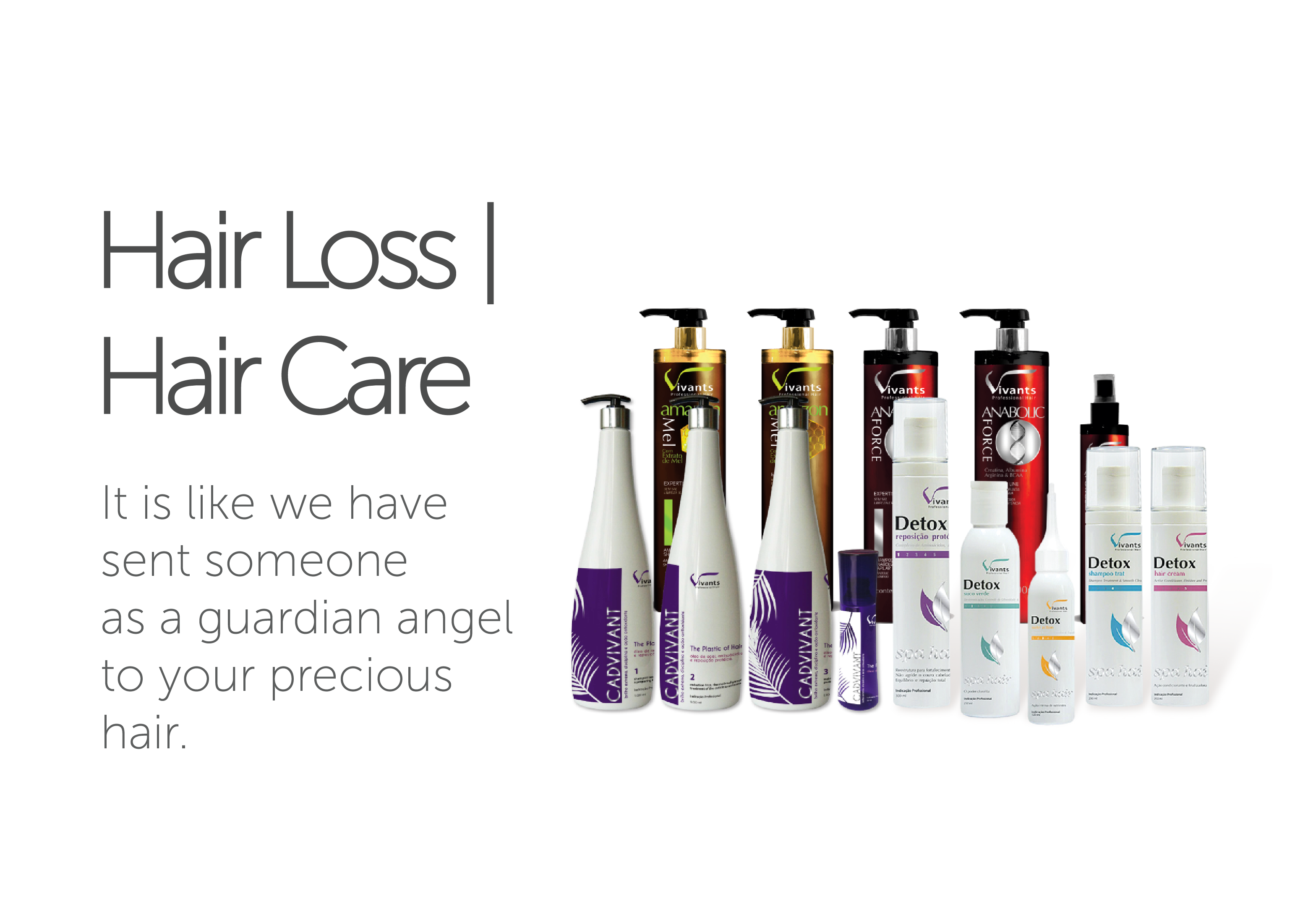 Hair Loss Hair care - It is like we have sent someone as a guardian angel to your precious hair.